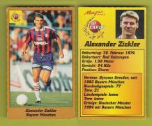 Bayern Munich Alexander Zickler Germany 178